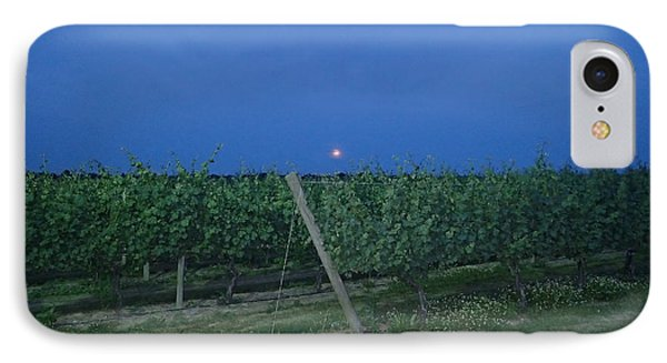 Blue Moon IPhone Case by Robert Nickologianis