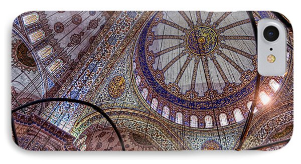 Blue Mosque Istanbul IPhone Case by Nigel Fletcher-Jones