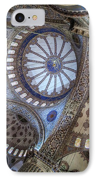 Blue Mosque IPhone Case by Ross Henton