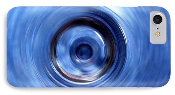 Blue Motion IPhone Case by Krissy Katsimbras