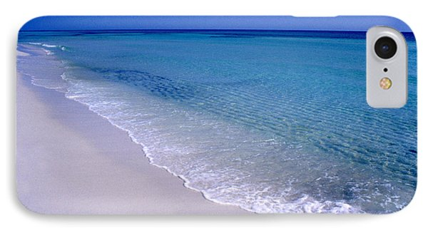 Blue Mountain Beach IPhone Case by Thomas R Fletcher