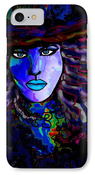 Blue Mystique Phone Case by Natalie Holland