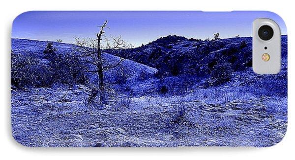 Blue Night Phone Case by Mickey Harkins