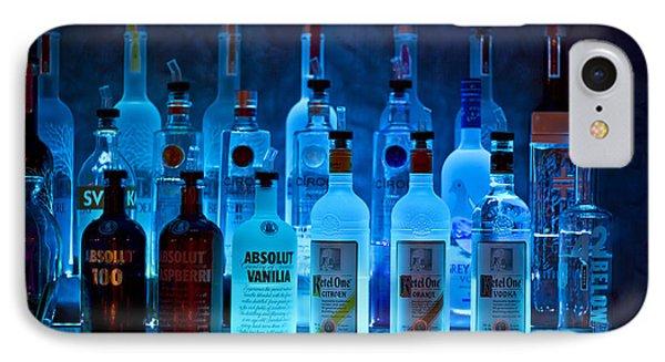 Blue Night Shadows Phone Case by Evelina Kremsdorf