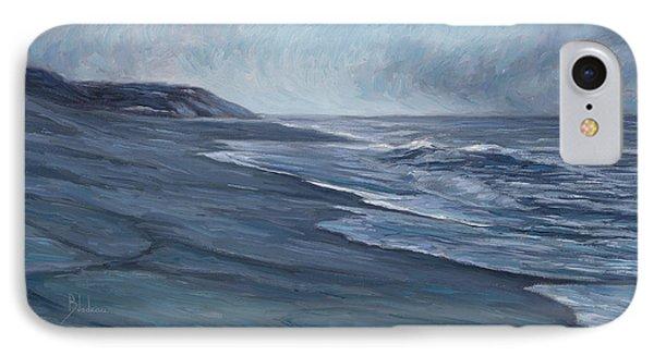 Blue Ocean IPhone Case by Lucie Bilodeau
