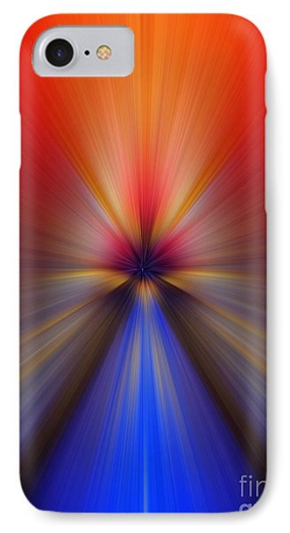 Blue Orange Blur IPhone Case