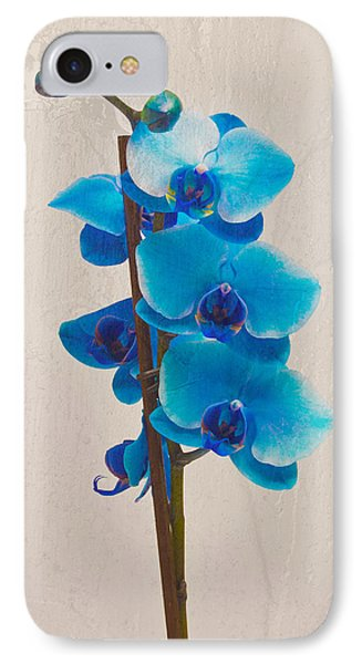 Blue Orchid IPhone Case by Scott Carruthers