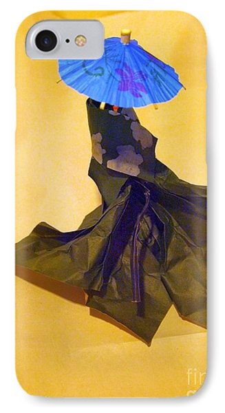 Blue Parasol IPhone Case