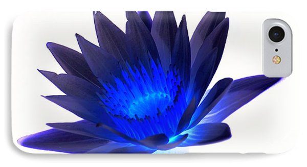 Blue Passion IPhone Case by Rob Luzier