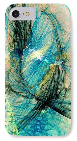 Blue Phoenix IPhone Case by Anastasiya Malakhova
