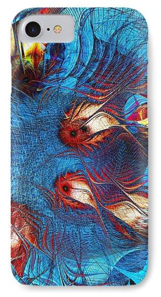 Blue Pond Phone Case by Anastasiya Malakhova