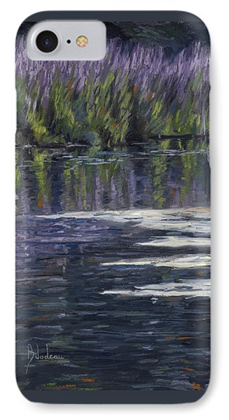 Blue Pond IPhone Case by Lucie Bilodeau