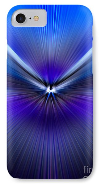 Blue Purple Zoom IPhone Case