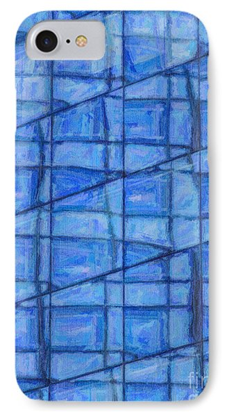Blue Reflections IPhone Case by Liz Leyden