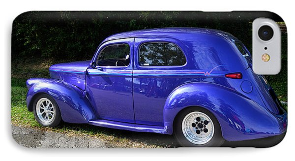 Blue Restored Willy Car Phone Case by Luther Fine Art