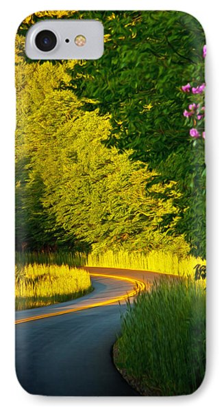 IPhone Case featuring the photograph Blue Ridge Afternoon by John Haldane