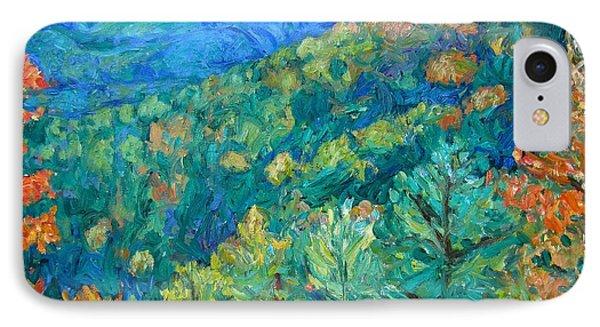 Blue Ridge Autumn IPhone Case by Kendall Kessler