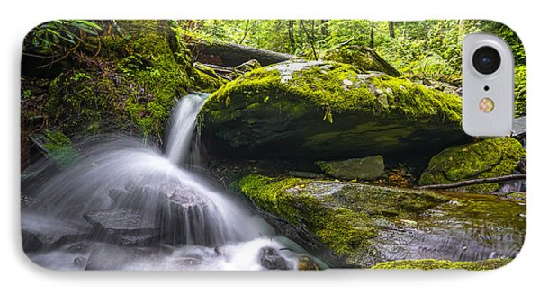 Blue Ridge Cascade IPhone Case