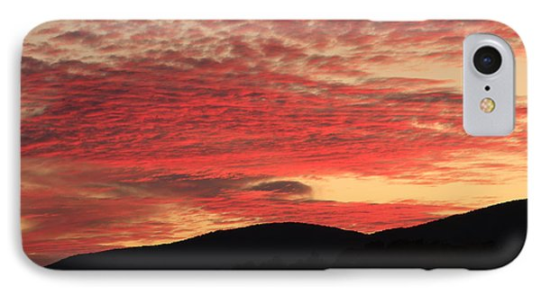 IPhone Case featuring the photograph Blue Ridge Mountain Sunset-alabama by Mountains to the Sea Photo