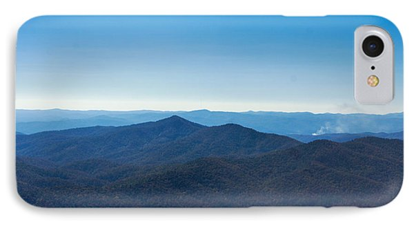 Blue Ridge Mountains IPhone Case by Debra Crank