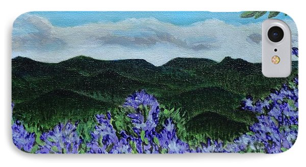 Blue Ridge Mountains IPhone Case by Manny Chapa