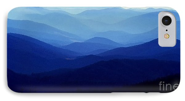 Blue Ridge Mountains IPhone Case by Thomas R Fletcher
