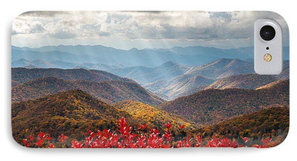 Blue Ridge Parkway Fall Foliage - The Light Phone Case by Dave Allen