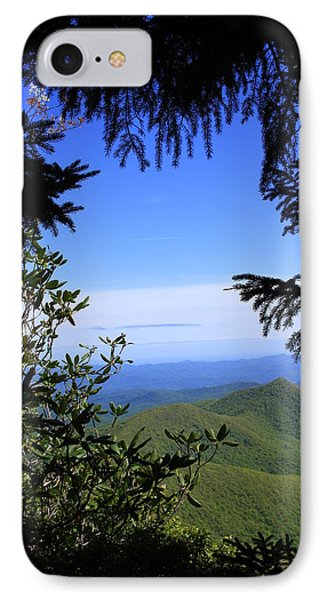 IPhone Case featuring the photograph Blue Ridge Parkway Norh Carolina by Mountains to the Sea Photo