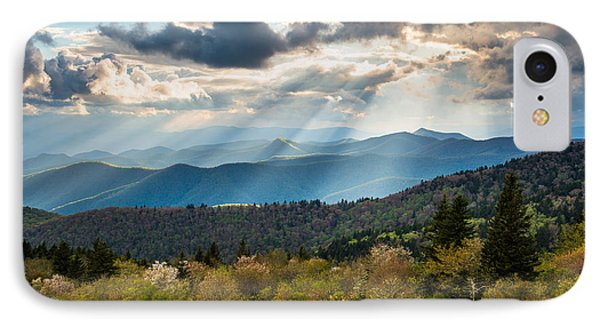 Blue Ridge Parkway North Carolina Mountains Gods Country IPhone Case