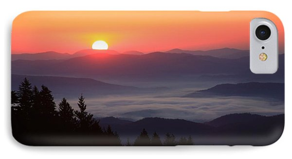 Blue Ridge Parkway Sea Of Clouds Phone Case by Mountains to the Sea Photo