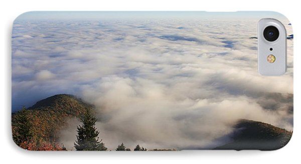 Blue Ridge Parkway Sea Of Clouds Near Graveyard Fields IPhone Case by Mountains to the Sea Photo