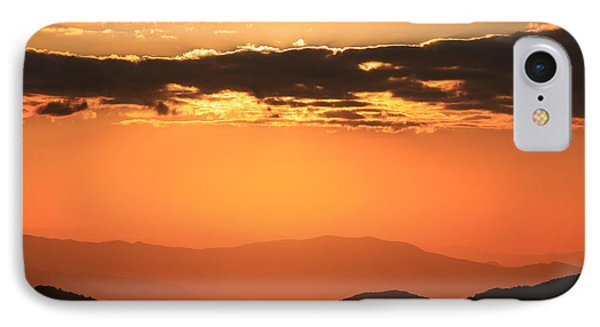 IPhone Case featuring the photograph Blue Ridge Parkway Sunset-north Carolina by Mountains to the Sea Photo