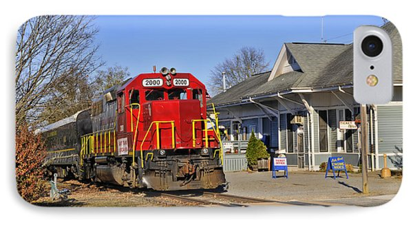 Blue Ridge Scenic Railway IPhone Case by Kenny Francis