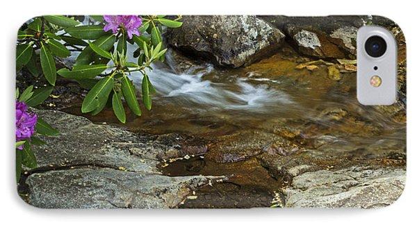 IPhone Case featuring the photograph Blue Ridge Stream by Robert Pilkington