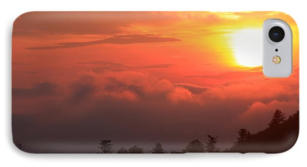 Blue Ridge Sunrise Great Balsam Mountains IPhone Case by Mountains to the Sea Photo