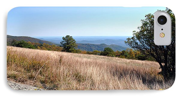IPhone Case featuring the photograph Blue Ridge View by Kelly Nowak