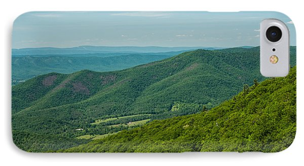 Blue Ridge Vista IPhone Case