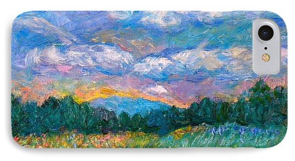 Blue Ridge Wildflowers IPhone Case by Kendall Kessler