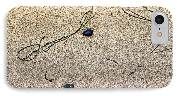 Blue Rocks And Seagrass IPhone Case by Bob Wall