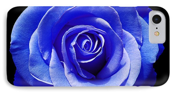 Blue Rose Phone Case by Aimee L Maher Photography and Art Visit ALMGallerydotcom