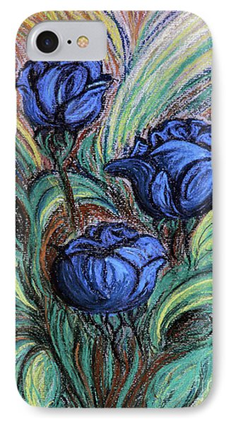 Blue Roses Phone Case by Jasna Dragun