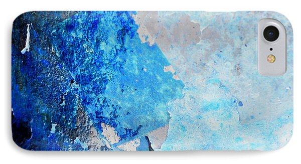 IPhone Case featuring the photograph Blue Rust by Randi Grace Nilsberg