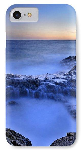 Blue Seaside Phone Case by Guido Montanes Castillo
