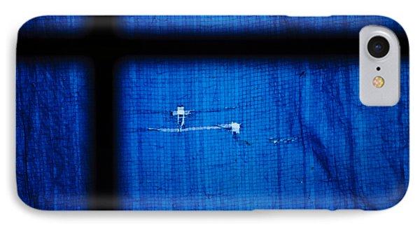 Blue Shade Phone Case by Christi Kraft