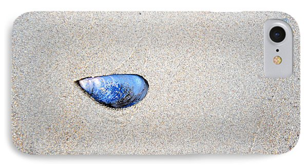 IPhone Case featuring the photograph Blue Shell by Randi Grace Nilsberg