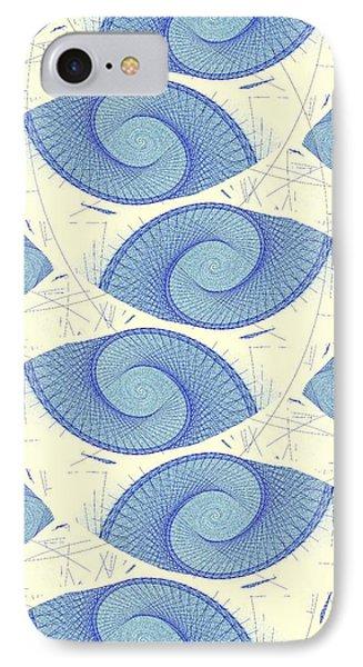 Blue Shells Phone Case by Anastasiya Malakhova