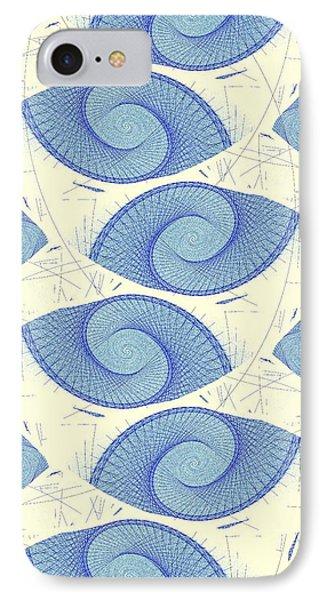 Blue Shells IPhone Case by Anastasiya Malakhova