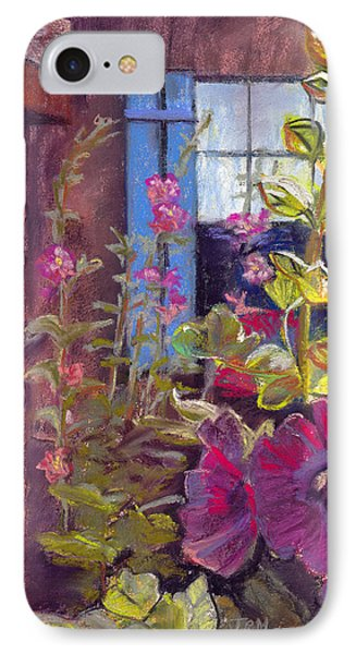 Blue Shutters IPhone Case by Julie Maas