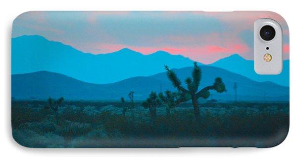 Blue Sky Cacti Sunset IPhone Case by Deprise Brescia