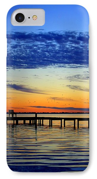 Blue Sky IPhone Case by Faith Williams